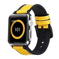 Dây Da cao su dành cho Apple Watch Hybrid
