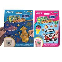 Combo bộ đồ chơi Gem Mosaic Small-Sea  và GEM Mosaic - Travel