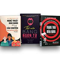 Combo 3 Cuốn: Đọc Vị Trong Bán Hàng – Thôi Miên Trong Bán Hàng