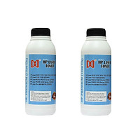 Combo hai chai mực đổ siêu đậm, ít mực thải cho máy in 2900/3300/251Dw/252Dw/ 2035/2055/M401D/5200 - máy in laser HP,Canon - Mực chai HP Premium (1320) CN ( Hàng chính hãng)