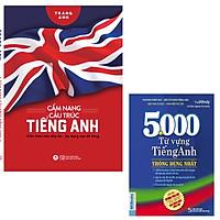 combo Cẩm Nang Cấu Trúc Tiếng Anh + 5000 Từ Vựng Tiếng Anh Thông Dụng Nhất