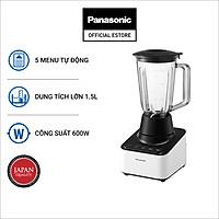 Máy Xay Panasonic MX-V300KRA 1.5 Lít - Có thể xay mịn đá - Công nghệ đảo V&M - Kèm cối phụ - Bảo Hành 12 Tháng