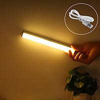 Đèn LED Đèn Cảm Ứng Cảm Biến Chuyển Động Sạc USB Tiện Gắn Hành Lang Tủ Quần Áo Kho
