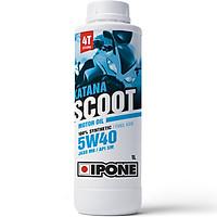 Nhớt Tay Ga Tổng Hợp 4T Scooter Ipone Katana Scoot 5W-40 (1L) - Hàng Chính Hãng