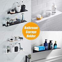 Two Colors and Four Sizes of 30/40/50/60cm Tidy Rack Wall-mounted Bathroom Storage Rack, Save Home Space Easy to Use