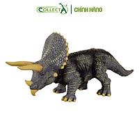 Mô hình thu nhỏ: Khủng Long Triceratops  - Triceratops, hiệu: CollectA, mã HS 9654020[88037] -  Chất liệu an toàn cho trẻ - Hàng chính hãng