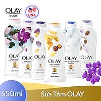 Sữa Tắm Dưỡng Ẩm Olay Body Wash 650ml