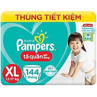 Tã Quần Giữ Dáng Pampers Megabox Thùng Tiết Kiệm XL144