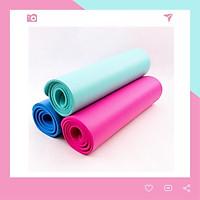 Thảm Yoga Siêu Dày Dặn 10mm T10 Dày Dặn Màu Hồng