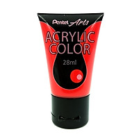 Tuýp Màu Acrylic Pentel WA2-T37 - Scarlet