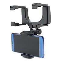 Giá đỡ kẹp điện thoại gắn gương chiếu hậu xe hơi Selfiecom - Hàng chính hãng