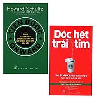 Combo Sách Kỹ Năng Làm Việc: Dốc Hết Trái Tim - Cách Starbucks Xây Dựng Công Ty Bằng Từng Tách Cà Phê + Tiến Bước  - (Cuốn Sách Là Những Nguồn Tham Khảo Quý Cho Nhà Lãnh Đạo / Tặng Kèm Bookmark Greenlife)
