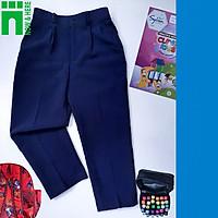 Quần đồng phục học sinh nam từ 15kg đến gần 75kg - QUẦN TÂY đồng phục màu XANH ĐEN - NH SHOP