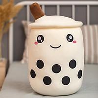 Ly trà sữa bông - NHÓC (Trắng)