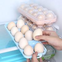 Khay Nhựa Đựng Trứng Trong Tủ Lạnh JIAYU J-KE011-1B - Xanh