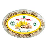 Bánh chuối phồng hạt mè TƯ BÔNG 220g
