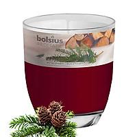 Ly nến thơm tinh dầu Bolsius Winterdream 105g QT024350 - hương gỗ thông