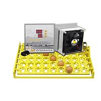 Máy ấp trứng P100+khay đảo 54 quả- đảo tự động