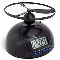 Đồng hồ báo thức thông minh có cánh quạt - Tặng 02 đèn ngủ cắm USB (màu ngẫu nhiên)