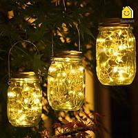 Đèn LED Lọ Điều Ước Cảm Biến Ánh Sáng Trang Trí Tiệc Dã Ngoại Cầu Hôn Sinh Nhật Quán Cafe Nhà HàngHomestay
