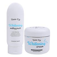 Kem Dưỡng Trắng Da Body Mersenne Beaute Tone Up Whitening Milky Pack (200ml)