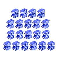 Combo 20 Cặp Kệ Dụng Cụ Nhỏ Duy Tân (12 x18 x 8 cm) - Kệ nhựa đựng ốc vít, hàng hóa, đa năng, giúp sắp xếp gọn gàng đồ đạc
