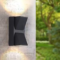 Đèn gắn tường hiện đại trang trí ngoài trời , trong nhà hắt 2 đầu VNT613