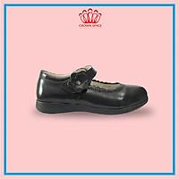 Giày Búp Bê Đi Học Bé Gái Crown Space UK School Shoes CRUK3041 Cao Cấp Nhẹ Êm Thoáng Mát Size 28-36/4-14 Tuổi