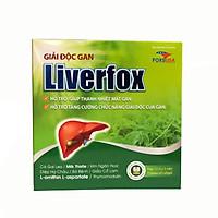 Thực phẩm bảo vệ sức khỏe GIẢI ĐỘC GAN – LIVERFOX (hộp 12 vỉ x 5 viên)_Hỗ trợ giúp thanh nhiệt giải độc, hỗ trợ tăng cường chức năng giải độc của gan, bảo vệ tế bào gan do rượu và các hóa chất độc hại gây nên.