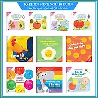 Bộ Ehon song ngữ Anh Việt 10 cuốn - Cho bé 0-6 tuổi - Bộ sách nuôi dưỡng tâm hồn bé