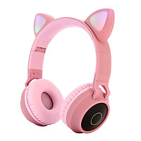 Bluetooth Headset Foldable Over The Ear Stereo Headphone Microphone Mic New