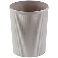 (COMIX) diameter 22cm easy to clean round clean barrels / baskets / trash cans gray office stationery L203