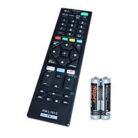 Remote Điều Khiển Dành Cho Smart TV, Internet TV, TV Thông Minh SONY RM-L1615 (Kèm pin AAA Maxell)