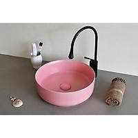 chậu sứ màu-lavabo để bàn Kanly su520