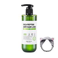 Dầu Gội Ngăn Rụng Tóc Some By Mi Cica Peptide Anti Hair Loss Derma Scalp Shampoo 285ml + Tặng Kèm 1 Băng Đô Tai Mèo (Màu Ngẫu Nhiên)