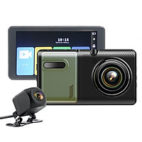 Camera Hành Trình Xe Tải Màn Hình Cảm Ứng 5.0 inch Full HD 1080p GPS H5 (Hỗ Trợ Tiếng Việt)