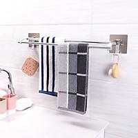 Kệ treo khăn nhà tắm dán tường cao cấp ShuangQing 5219