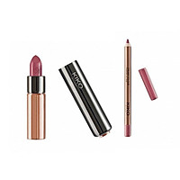 Bộ Son và Chì Kẻ Môi Kiko Magical Holiday, Gossamer Emotion Creamy Lipstick and Lip Kit Shade 109