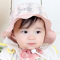 Mũ bé gái - Mũ chống nắng cho bé xinh xắn