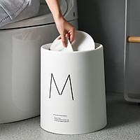 Thùng rác M 8L và 12L phong cách Bắc Âu