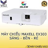 Máy chiếu Maxell MC-EX303E - Hàng chính hãng, độ sáng cao, ảnh sắc nét phù hợp văn phòng, cafe, bóng đá