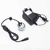 Vỉ tạo ẩm phun sương khói 1 mắt 12 đèn LED 24V 30W Smartpumps kèm nguồn điện chính hãng