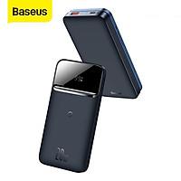 Sạc dự phòng không dây nam châm Baseus PPCXW10 10000mAh Sạc Nhanh 20W Cho Iphone 12- Hàng chính hãng.