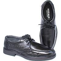 Giày nam da bò đế cao su dây buộc Rozalo R6588