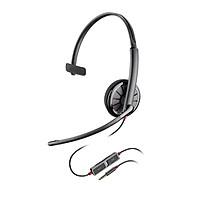 Tai nghe Plantronics 215 Mono chuẩn USB một bên tai - hàng chính hãng