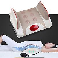 Đệm (máy) massage lưng rung nóng hỗ trợ trị đau nhức lưng YIJIA YJ-M4 - Dùng được trên ô tô