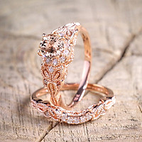 Engagement Ring Wedding Ring Design Rose Gold Jewelry Accessory Summer Fashion Lady