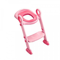 Thang bô vệ sinh cho bé babyhop - Màu hồng
