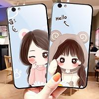 Ốp lưng dành cho iphone kính CUTE cho iphone 6 s plus 7 8 plus Xr X s max 11 11 pro max 12 mini 12 pro max
