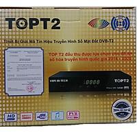 Đầu thu kỹ thuật số mặt đất DVB T2 TOP trung - Hàng chính hãng công ty